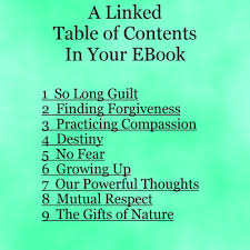 Linked Table of Contents