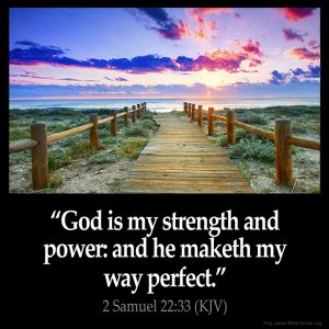 God Is My Strength and Power