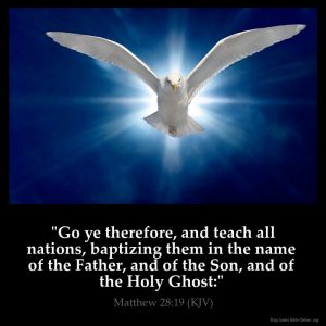 Go ye therefore and teach alll nations