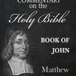 Matthew Pooles Commentary on the Holy Bible - Book of John